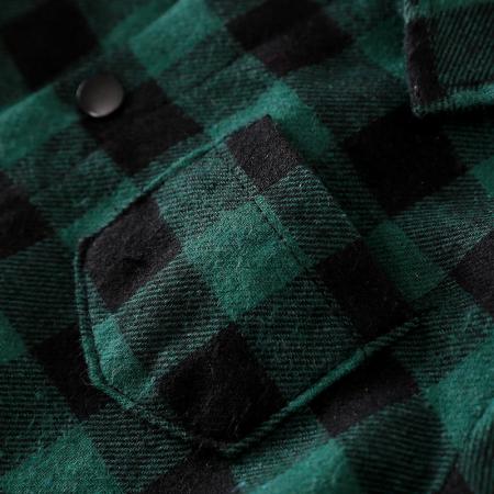 Salopeta In Carouri Verde Inchis Unisex 3-9 Luni [3]