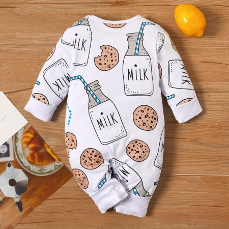 Salopeta Milk Cookie Unisex 3-12 Luni [1]