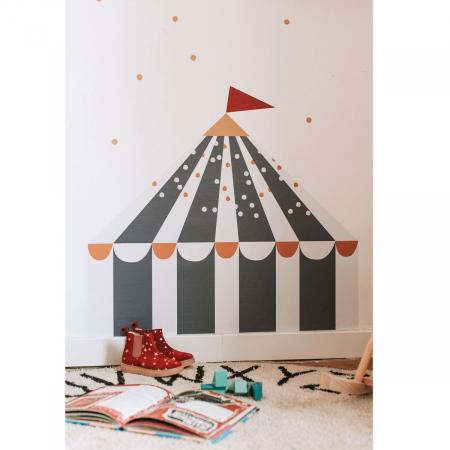 Set autocolante pentru camera copiilor Circus Bleumarin [2]