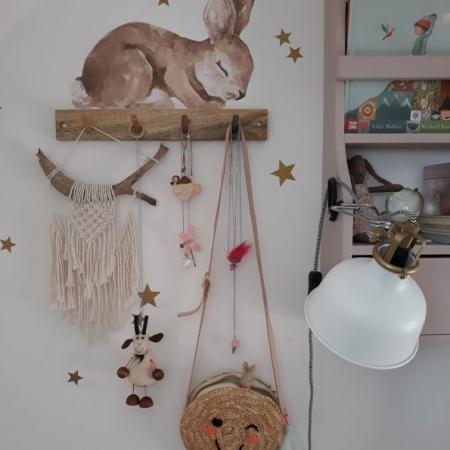 Set autocolante pentru camera copiilor Happy Rabbits Wonderland [6]
