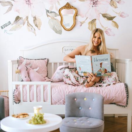 Set autocolante pentru camera copiilor Magnolii [5]