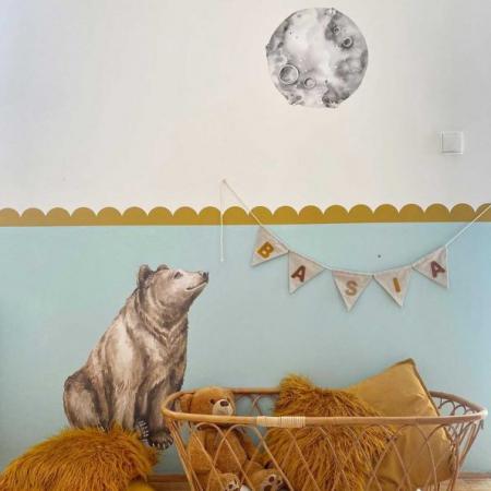 Set autocolante pentru camera copiilor Mr. Bear [3]