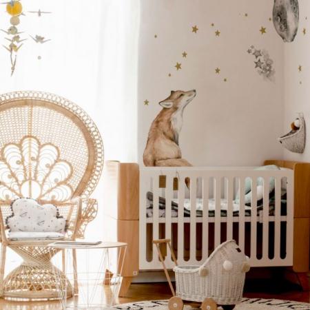 Set autocolante pentru camera copiilor Mr. Fox [5]