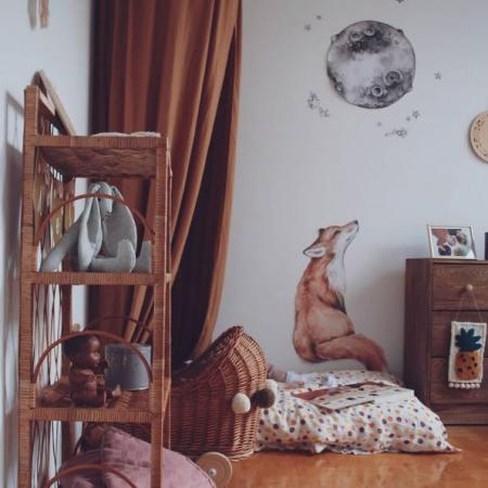 Set autocolante pentru camera copiilor Mr. Fox [6]