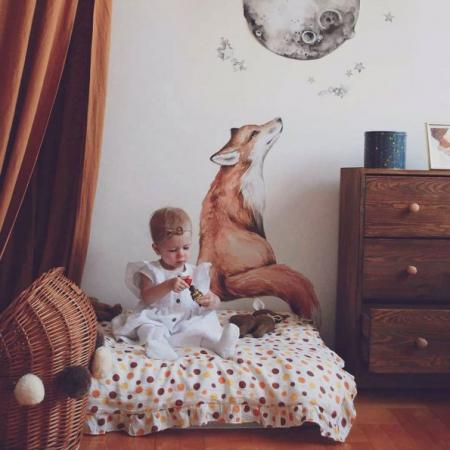Set autocolante pentru camera copiilor Mr. Fox [0]