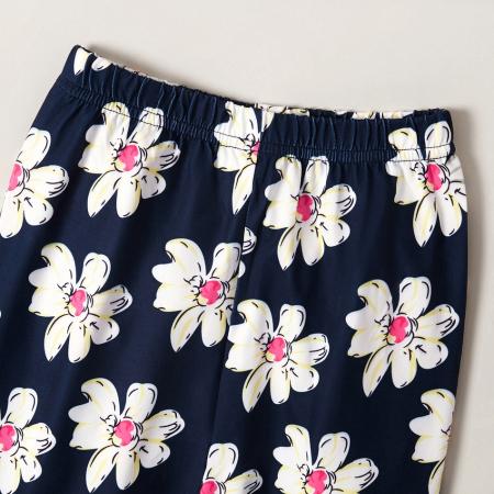 Set Bluza Si Pantaloni Cu Imprimeu Floral [4]