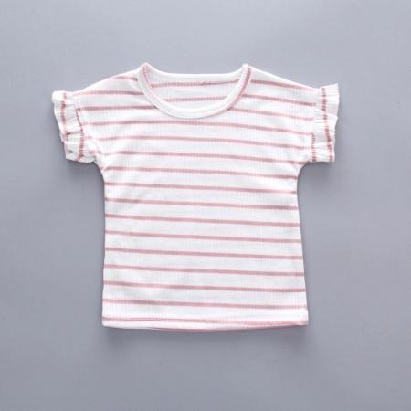 Set Bluza si Salopeta Evazata Roz Fetite [3]