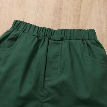 Set Pantaloni si Camasa Tropical Baieti [7]