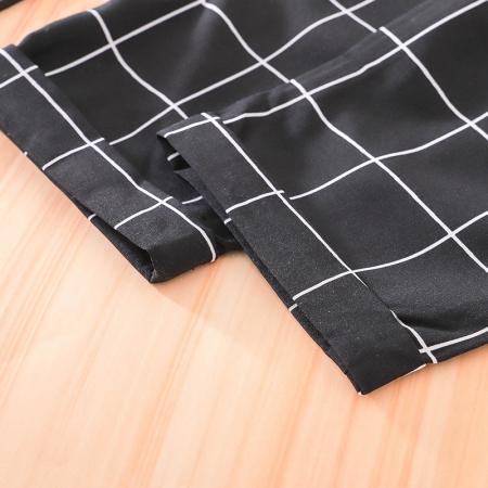 Set Salopeta Neagra Si Bluza Pentru Fete 2-5 Ani [3]