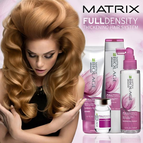 Fiole tratament pentru par rar Matrix Biolage FullDensity 2