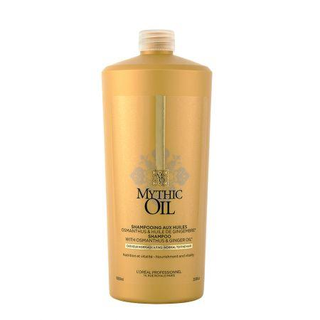 Sampon Par Subtire Fara Volum Mythic Oil 1000 ml L'Oréal Professionnel 0