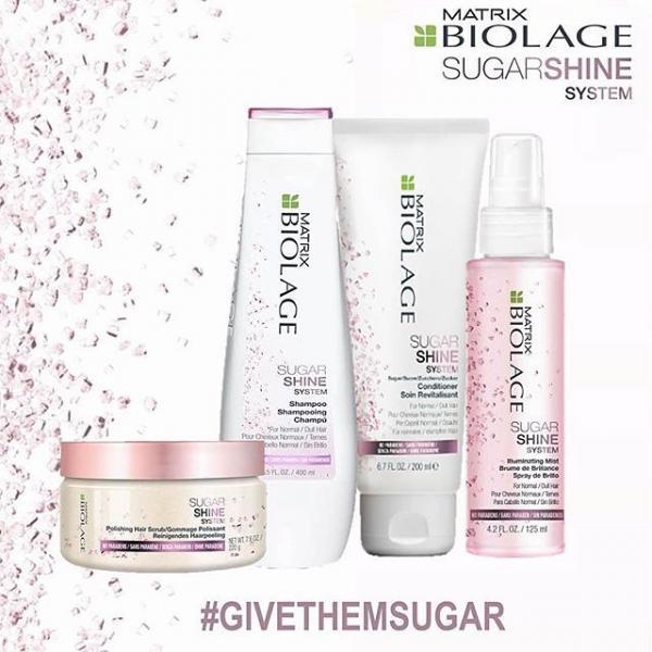 Sampon pentru par vopsit Biolage Sugar Shine 250ml Matrix 1