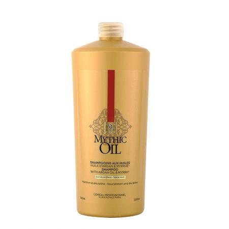 Sampon Cu Ulei De Argan Pentru Par Gros Mythic Oil 1000 ml L'Oréal Professionnel 0
