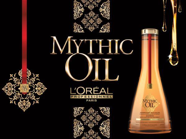 Sampon Pentru Par Gros Mythic Oil Cu Ulei De Argan 250 ml L'Oreal Professionnel 2