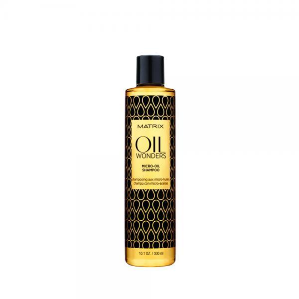 Sampon pentru par uscat Oil Wonders Micro-Oil 300ml Matrix 0