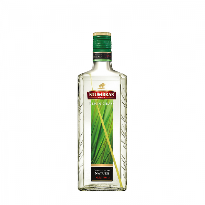 Vodka Stumbras Bison Grass 0.5L 40% 0