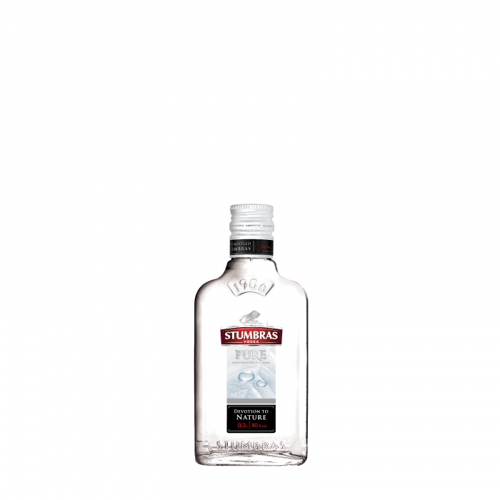 Vodka STUMBRAS PURE 0.2L 0