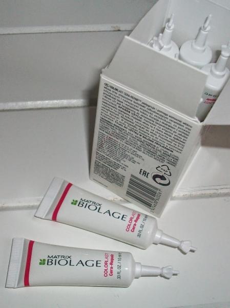 Tratament Fiole Matrix Biolage ColorLast Cera-Repair 2