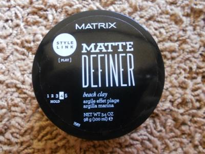 Pasta Modelatoare Matrix StyleLink Matte Definer, 100ml1