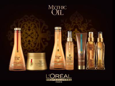 Șampon Cu Ulei De Argan Pentru Păr Gros Mythic Oil 1000 ml L'Oréal Professionnel2