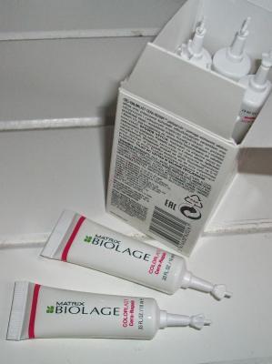 Tratament Fiole Matrix Biolage ColorLast Cera-Repair 10X10ml2