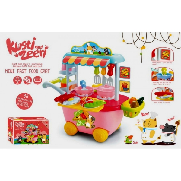 Set Mini Market Copii troler 0