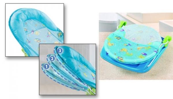 Saunel pentru baie bebe cu 3 poziti [3]