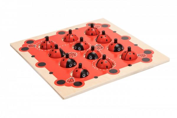Joc de Memorie din Lemn Ladybug - Joc de memorie din lemn cu planse 6