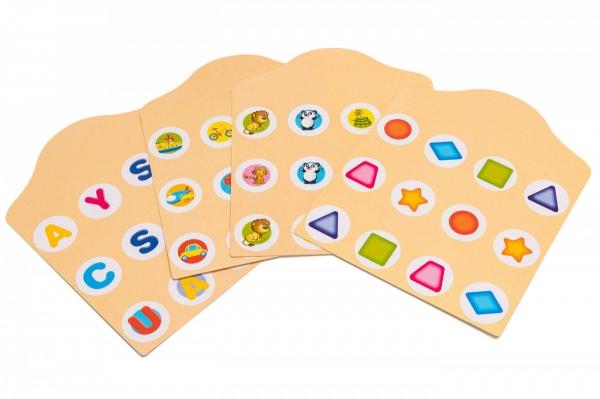 Joc de Memorie din Lemn Ladybug - Joc de memorie din lemn cu planse 7