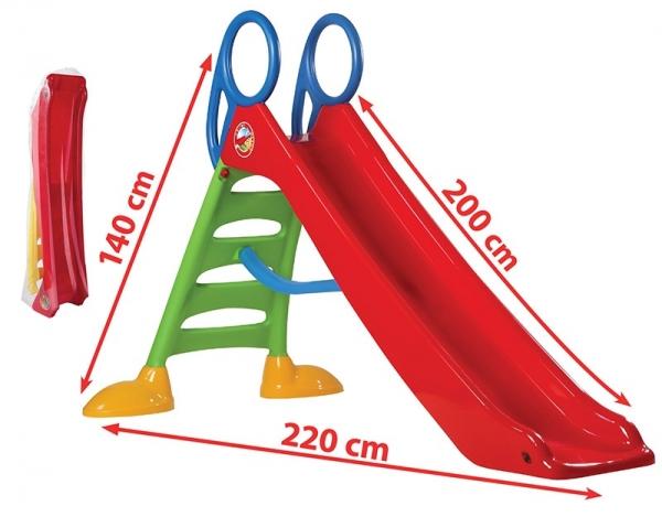 Tobogan Dohany 200 cm pentru copii - Topogan copii 2 m 1