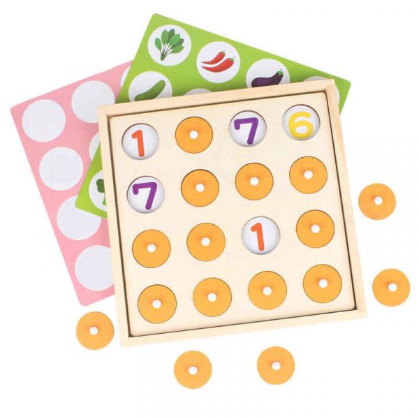 Joc indemnare si memorie 2 in 1 cu bile 5