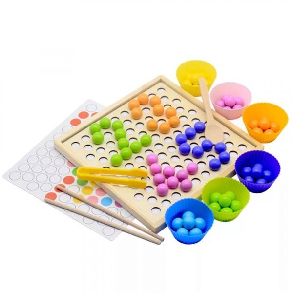 Joc indemnare si memorie 2 in 1 cu bile [4]