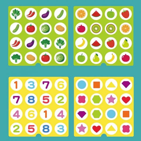 Joc indemnare si memorie 2 in 1 cu bile 3