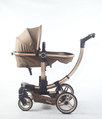 Carucior copii Transformabil 2 in 1 rotativ  360' Baby Care 7