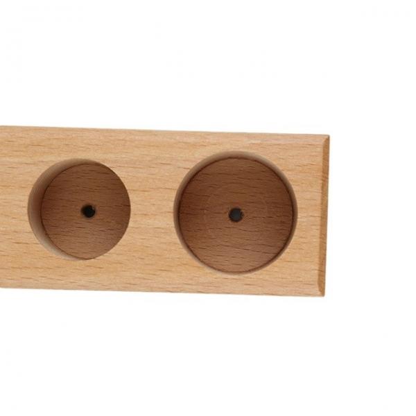 Joc de lemn Cilindrii Montessori set 4 cilindiri 3