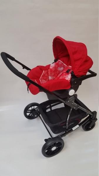 Carucior Baby Care 3 in 1 nou nascuti 4
