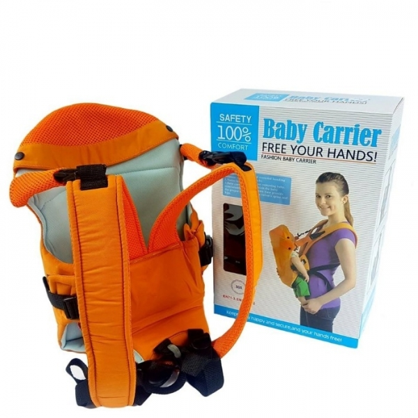 Marsupiu pentru bebelusii baby carrier portocaliu 0