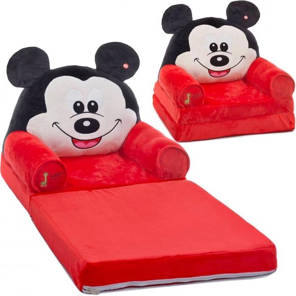Fotoliu Extensibil XXL Mickey Mouse din plus 120 cm - Minnie Mouse 0