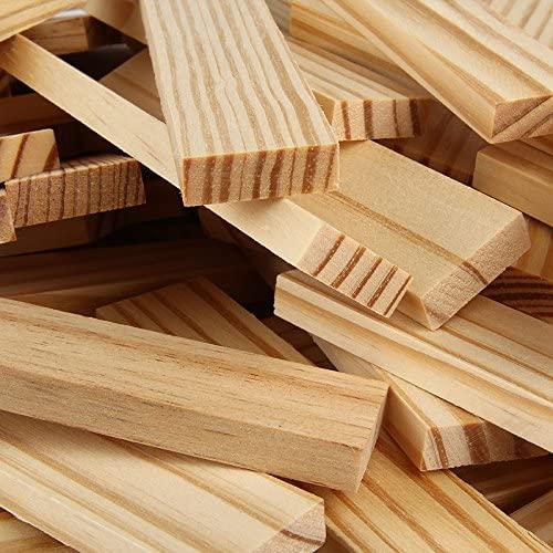 Joc de construit din lemn natur 300 de piese 3