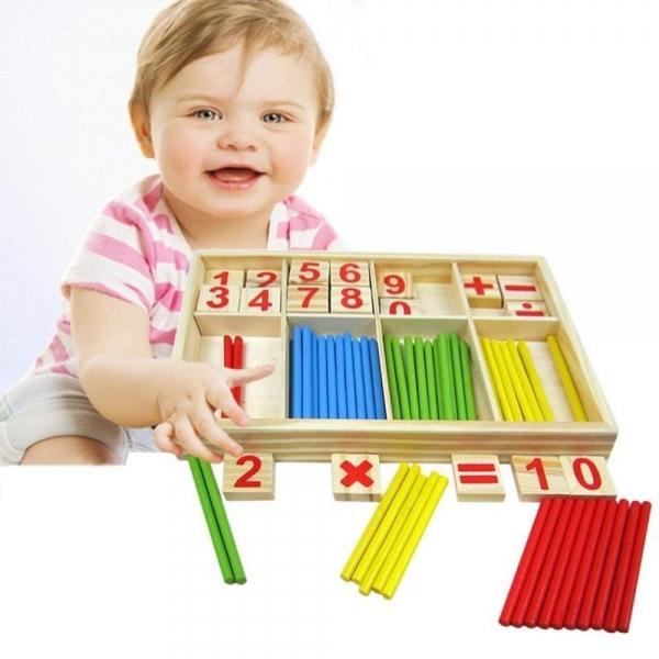 Jucarie educationala Montessori Blocuri [4]