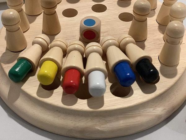 Joc din lemn Memorie CHESS 2