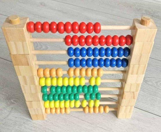 Abac Montessori din lemn multifunctional 0