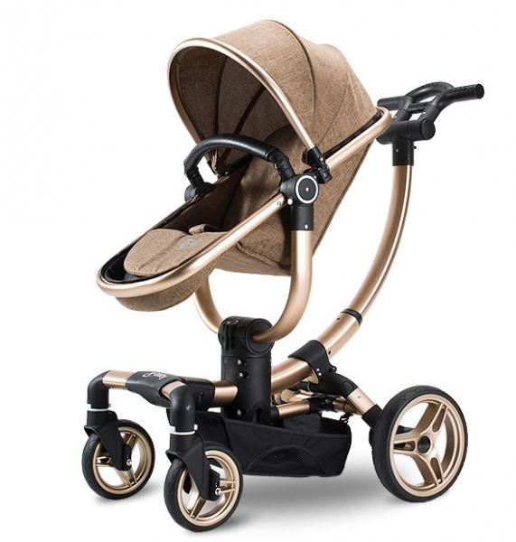 Carucior copii Transformabil 2 in 1 rotativ  360' Baby Care 10