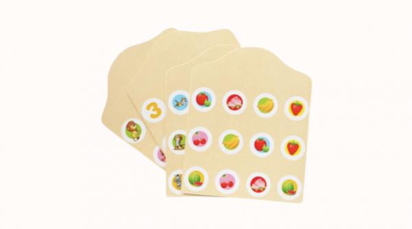 Joc de Memorie din Lemn Ladybug - Joc de memorie din lemn cu planse 11