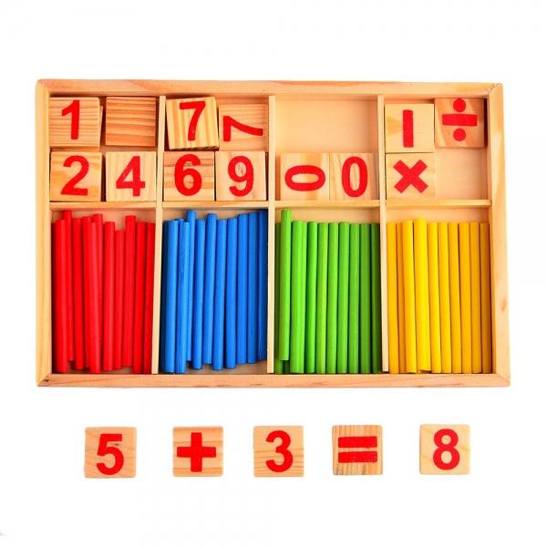Joc din lemn sa invatam sa numaram IntelligenceStick 6