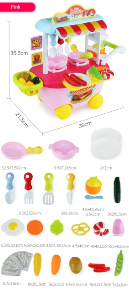 Set Mini Market Copii troler 6