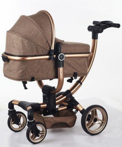 Carucior copii Transformabil 2 in 1 rotativ  360' Baby Care 2