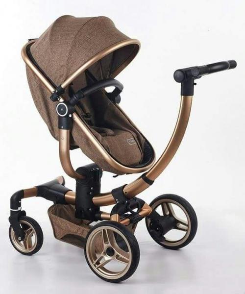 Carucior copii Transformabil 2 in 1 rotativ  360' Baby Care 1