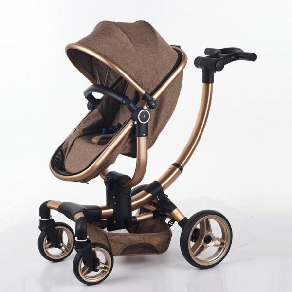 Carucior copii Transformabil 2 in 1 rotativ  360' Baby Care 0