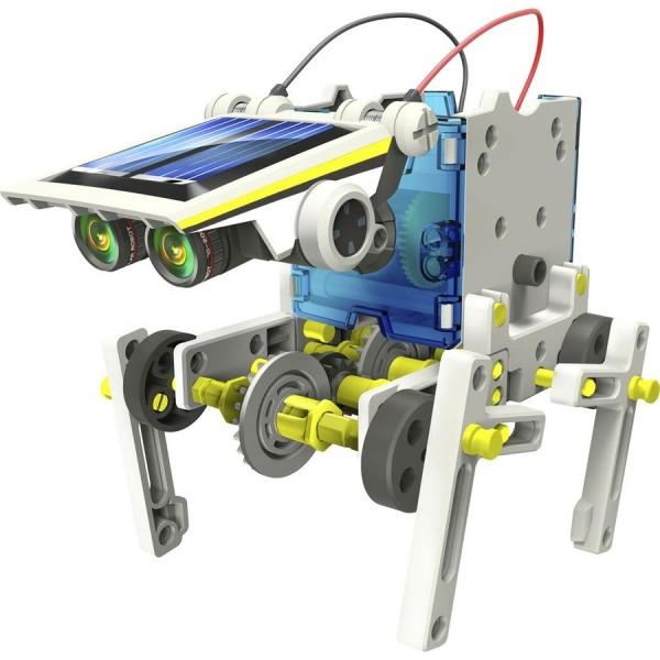 Kit Solar pentru Copii 14 in 1 Robotel 5